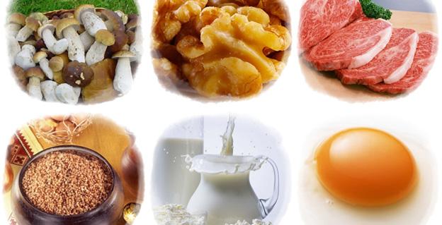 продукты богатые витамином PP