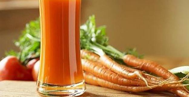 польза морковного сока