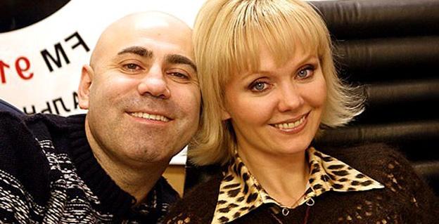 Валерия с любимым мужем