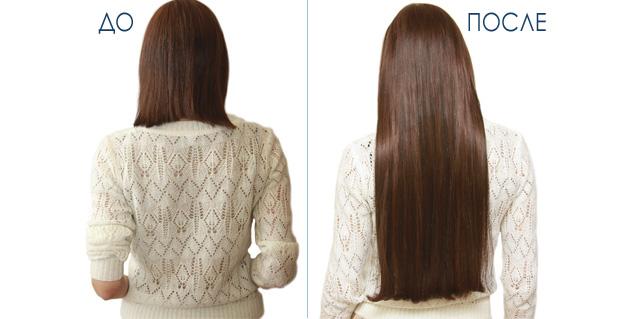 капсульное наращивание волос до и после (фото)