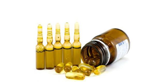маслянные растворы витаминов