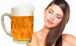 питательная маска с пивом для волос