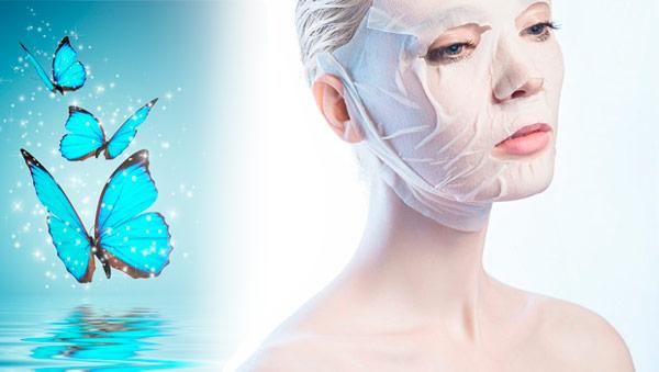 Живительные  маски для лица