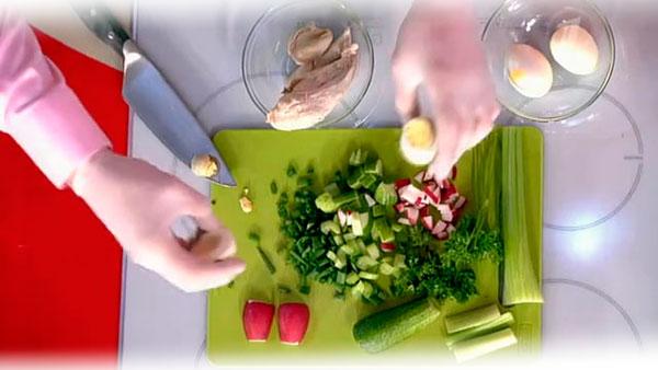 Рецепты окрошки для снижения веса