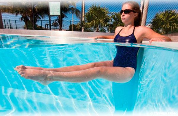 Упражнения для похудения в бассейне